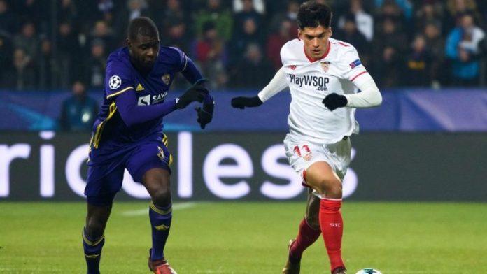 El Sevilla sella su pase a octavos de final de la Champions League