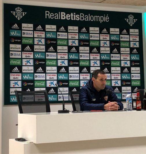 Sergio Jiménez: «Un derbi puede lastrar, sobre todo psicológicamente»
