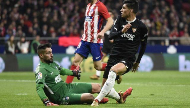 Los números del Sevilla frente el Atlético reafirman su mejoría