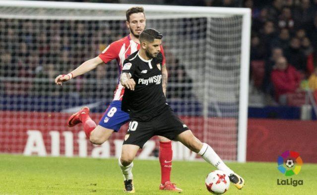 Cambio radical del Sevilla en el Wanda Metropolitano