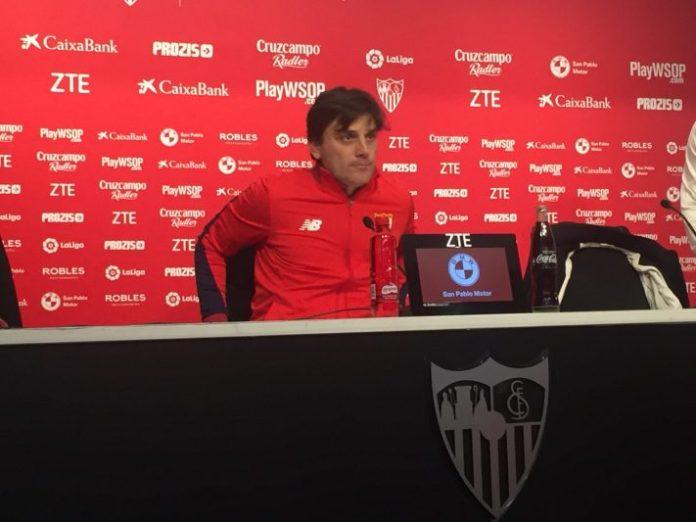 Montella: «Tenemos cinco partidos y quiero que todo dependa de nosotros»
