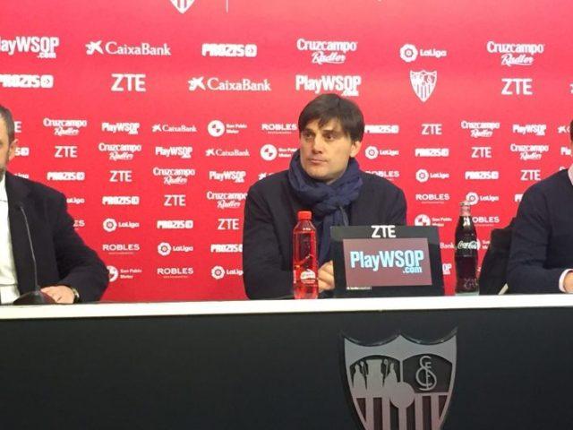 """Montella: """"Solo podemos pensar en el partido de mañana"""""""