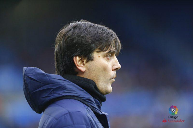 La defensa, única duda en el once de Montella para asaltar Old Trafford