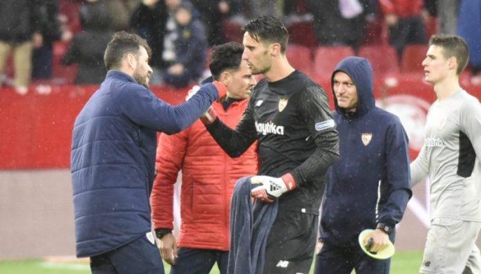 Sergio Rico: «Muy contento por las dos victorias»