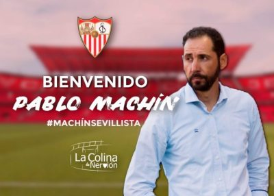 Pablo Machín, nuevo entrenador del Sevilla
