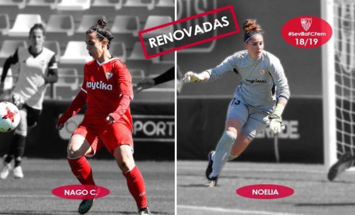 Nagore Calderón y Noelia Gil continúan para la 2018/19
