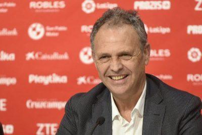 Caparrós, en su adiós al banquillo: «El Sevilla es mi casa y soy un privilegiado»