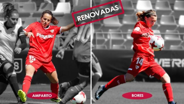 Amparito y Bores continuarán en el club nervionense