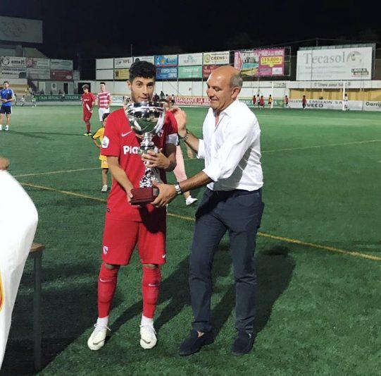El Sevilla Atlético vence en el trofeo 'Ciudad de Utrera'