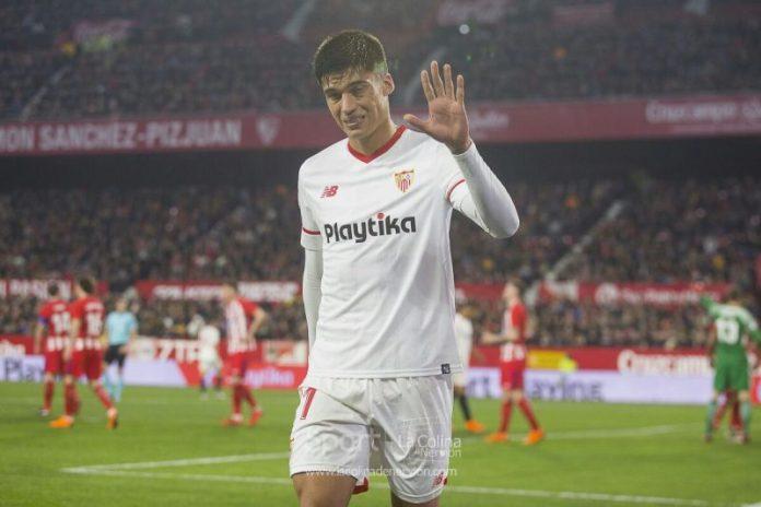 El Sevilla oficializa la marcha de Correa a la Lazio