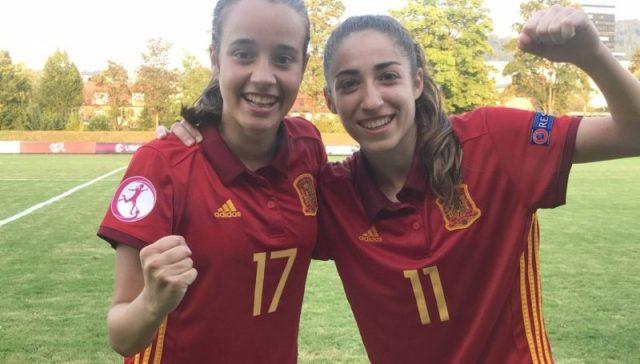 La campeona sevillista Olga Carmona, en el once ideal del Europeo Sub-19