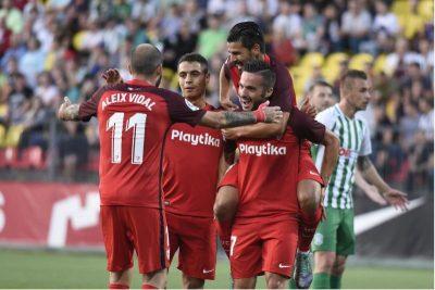 El Sevilla suma y sigue en Europa