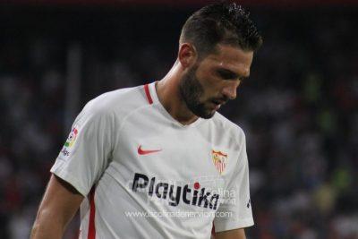 Franco Vázquez reflexiona sobre la eliminatoria europea, la Liga y la afición del Sevilla