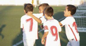 Imagen de la cantera sevillista para los partidos del 6 al 8 de octubre | Imagen: Sevilla FC