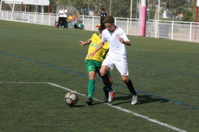 Un partido de la cantera sevillista | Imagen: Sevilla FC