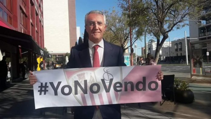 """Eduardo Arenas: """"El sevillismo debe saber que el proceso de venta del Sevilla está bastante avanzado"""""""
