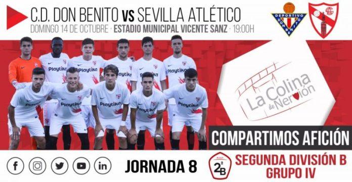 El Sevilla Atlético intentará escapar de descenso en Don Benito