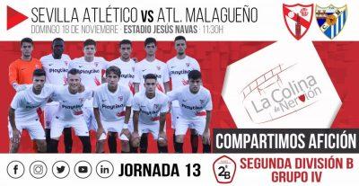 El Sevilla Atlético recibe a un Atlético Malagueño en horas bajas