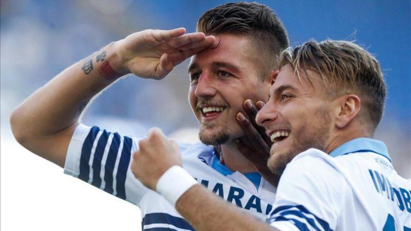 La Lazio partirá con ventaja