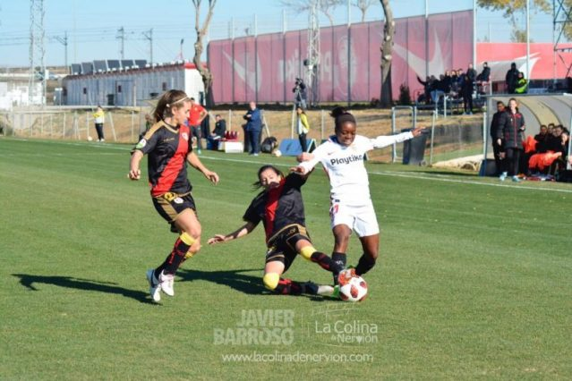 Un contundente Sevilla se impone al Rayo Femenino