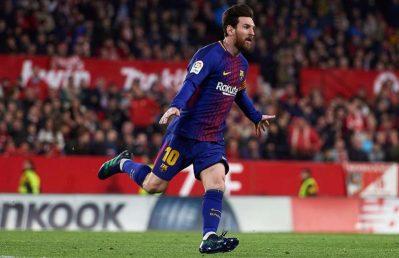 Balance positivo para el Sevilla cuando no juega Messi