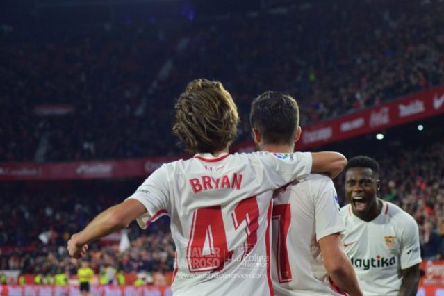 Un Bryan Gil de 'Primera' dio vida al Sevilla Atlético