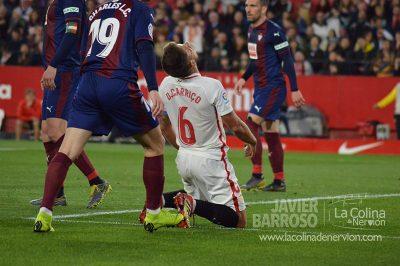 Un Sevilla infame consigue in extremis el empate ante el Eibar