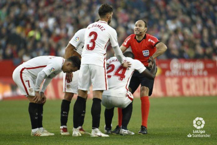 Mateu Lahoz, un fijo para el Sevilla en los partidos complicados