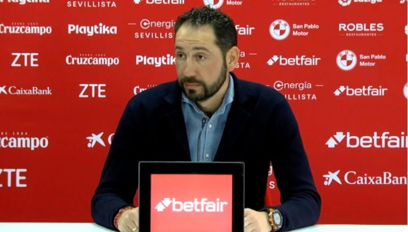 El Sevilla destituye a Pablo Machín