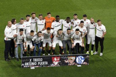 El Sevilla se lleva la X edición del Trofeo Antonio Puerta