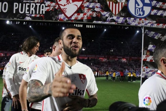 Dani Alves, el sueño del Sevilla