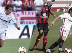 Bryan Gil y María Bores han sido elegidos para el Once de oro de Futbol Draft | Imagen Sevilla FC