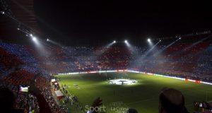 Grada en el Sevilla-Liverpool de UEFA Champions League | Imagen: La Colina de Nervión