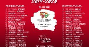 Calendario de Liga 2019/20   Imagen: La Colina de Nervión