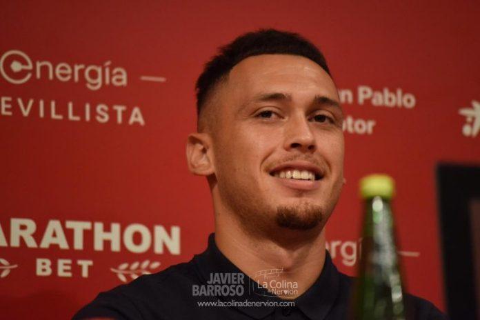 Ocampos, sobre el orgullo de firmar por el Sevilla FC, el cambio a La Liga y las expectativas