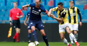 Luuk De Jong en un encuentro con el PSV | Imagen: PSV