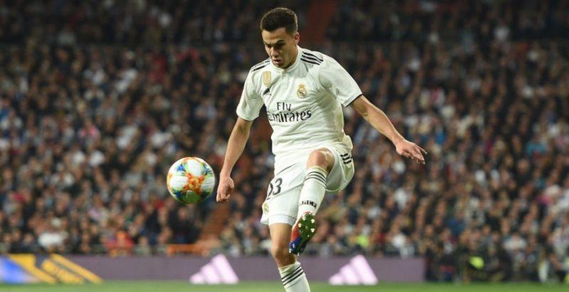 Sergio Reguilón, durante un partido del Real Madrid | Imagen: Real Madrid CF