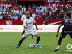 Banega, durante el Sevilla - Celta de Vigo |Imagen: La Liga