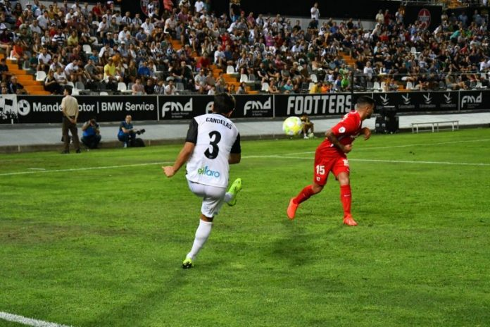 Un valiente Sevilla Atlético cae en su visita a Badajoz