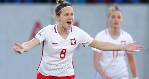 Emilia Zdunek, durante un partido con su selección | Imagen: Agencias