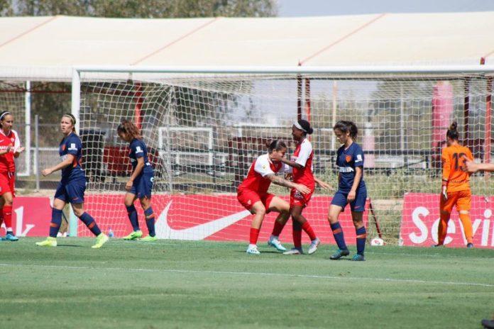 El Sevilla Femenino cierra la pretemporada venciendo al Málaga CF