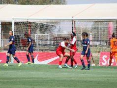 Payne celebrando un tanto conseguido  Imagen: Sevilla FC