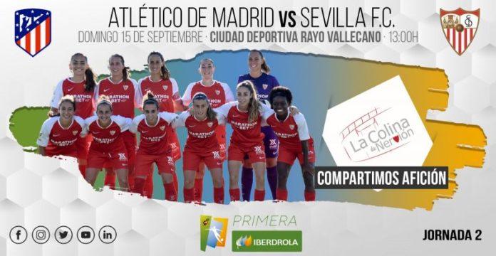 El Sevilla visita al titán de la Primera Iberdrola, el Atlético de Madrid