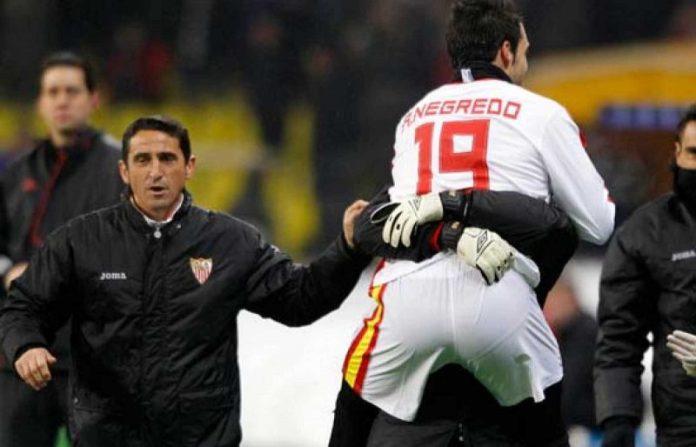 Negredo, uno de los mejores delanteros de la historia del Sevilla FC