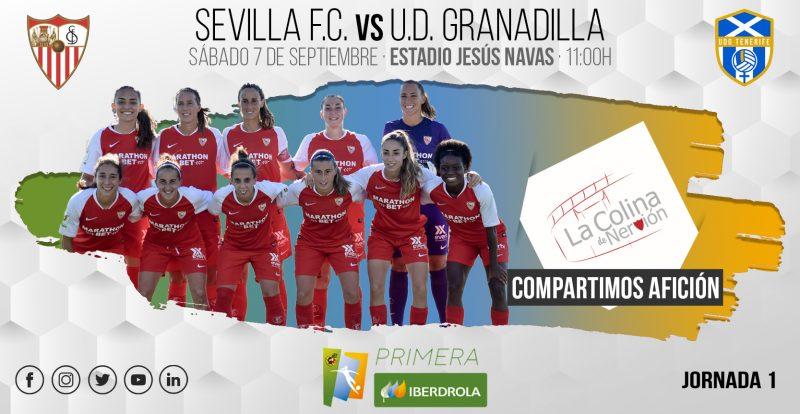 Foto previa Sevilla Femenino - UD Granadilla Tenerife, jornada 1 | La Colina de Nervión