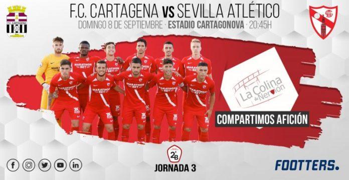 El Sevilla Atlético, a tomar impulso en Cartagena