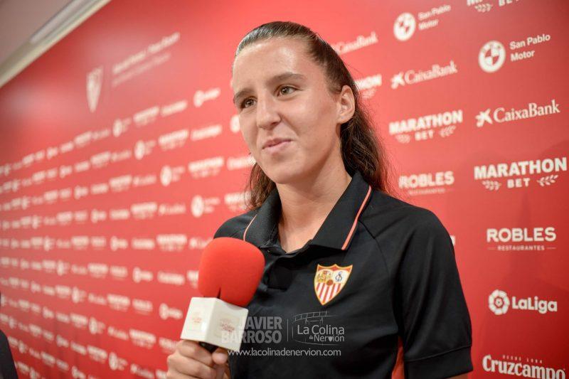 Almudena Rivero, del Sevilla Femenino | Imagen: La Colina de Nervión - Javi Barroso