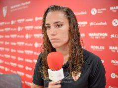 Sara Serrat, portera del Sevilla Femenino | Imagen: La Colina de Nervión - Javi Barroso