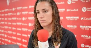 Sara Serrat, portera del Sevilla Femenino   Imagen: La Colina de Nervión - Javi Barroso