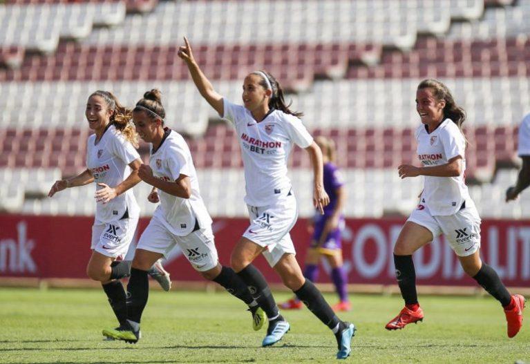 La goleada del Sevilla Femenino a la UD Granadilla Tenerife, en vídeo